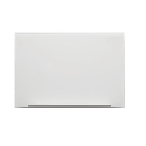 Nobo Diamond Glass Board Magnetic White 677x381mm