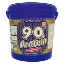 Nutrisport - 90+ Protein - Strawberry - 2.5Kg