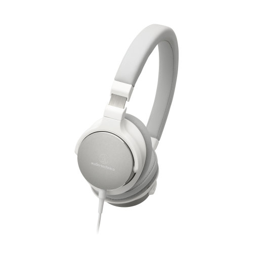 Audio-Technica ATH-SR5WH White High-Resolution On-Ear Headphones