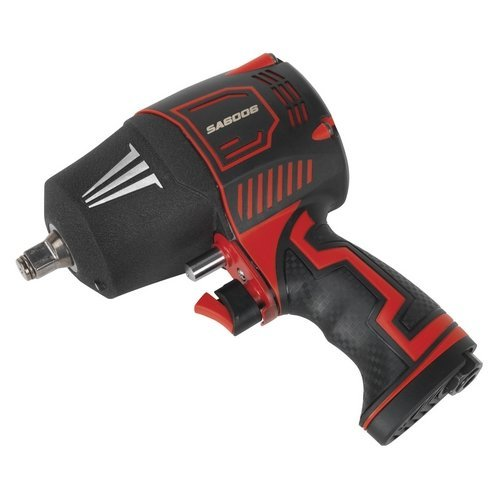 "Sealey SA6006 Composite Air Impact Wrench 1/2"" Square Drive Twin Hammer"