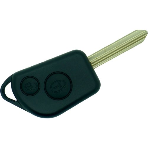 Fits Citroen 2 Button key fob case blade Saxo Berlingo Xsara Picasso repair