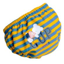 Baby Toddler Reusable Swim Diaper Adjustable Absorbent Fits Diapers, A05