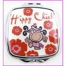 Hippy Chick Compact Mirror