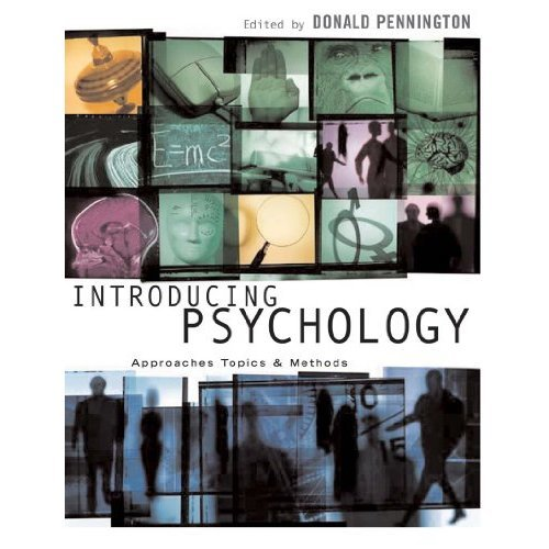 Introducing Psychology: Approaches, Topics and Methods