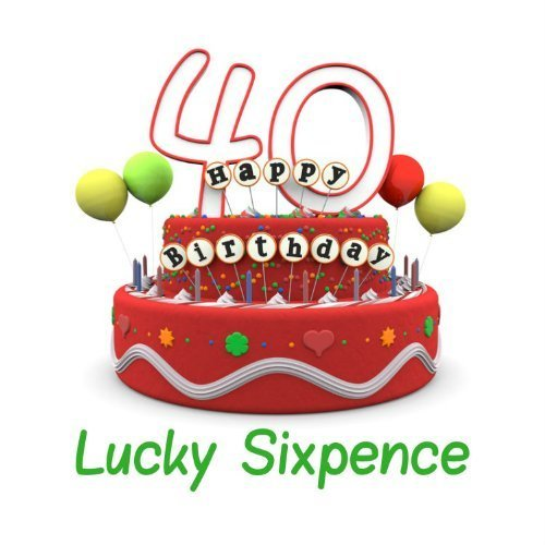 40th Birthday Lucky Sixpence Gift Great Good Luck Present Idea For Man Or Woman On OnBuy