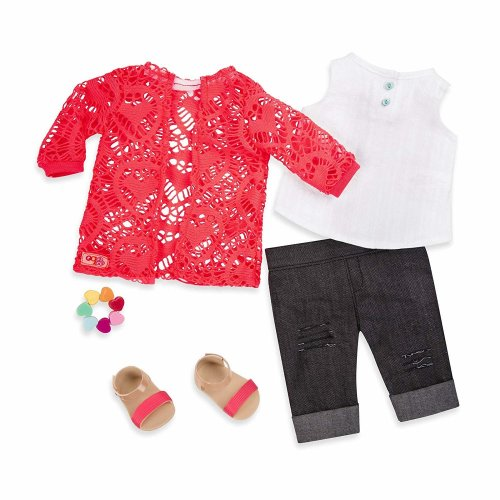 Our Generation Trip Of Your Dreams - Doll Outfit Red
