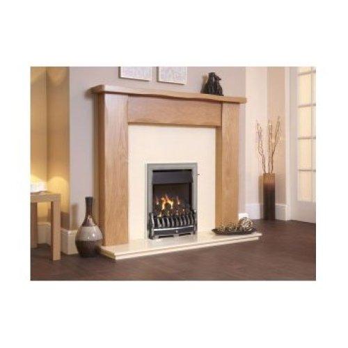 Designer Fire - Flavel FOPC37MN Silver Richmond Plus Gas Fire - MC