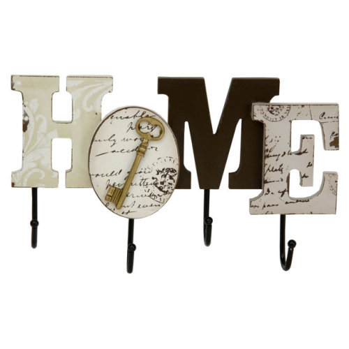 Juliana Home Living Cutout MDF Wall Hooks Home