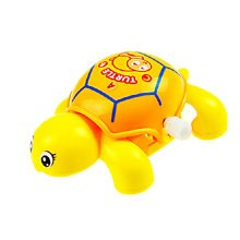 Set of 2 Cute Animals Wind-up Toy for Baby/Toddler/kids, Tortoise(Color Random)