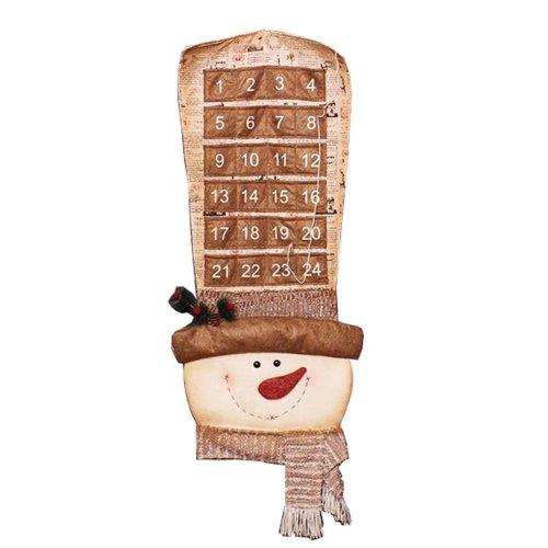 Snowman Lovely Christmas Countdown Calendar Christmas Decorations
