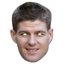 Steven Gerrard Celebrity Face Mask