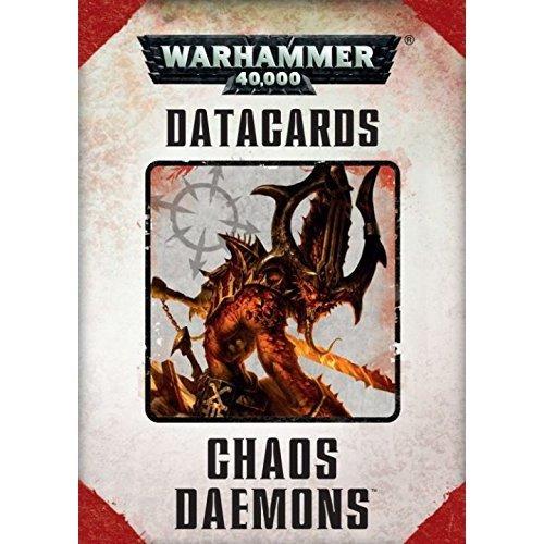 Games Workshop - Warhammer 40,000 - Datacards: Chaos Daemons