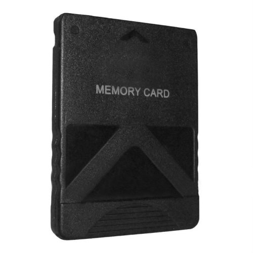 Memory card for PS2 32MB Sony PlayStation 2 slim console save game black ZedLabz