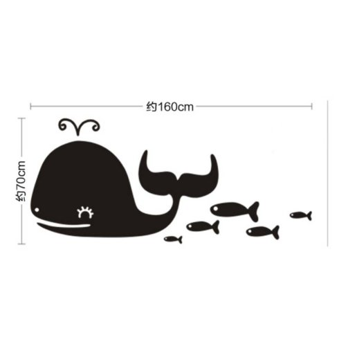 Whale Chalkboard Stickers Blackboard For Kids