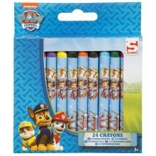 Paw Patrol 24 Pieces Crayons in Box