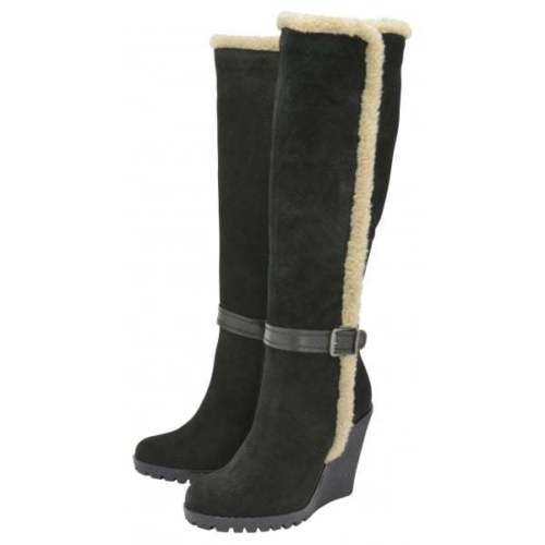 Ladies Ravel Evergreen Knee High Wedge Size Boots