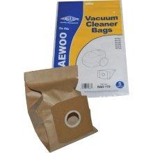 Electruepart BAG 170 5 pack Bags to fit Daewoo Vacuum Cleaners