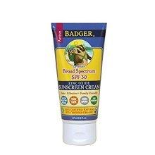 Badger Balm Lavender Sunscreen Cream- SPF 30 - 2.9 oz