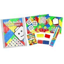 Boys Brick Block Pre Filled Party Bag - Kids Birthday Parties