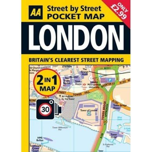 Pocket Map London 2-in-1 (Aa Street By Street)