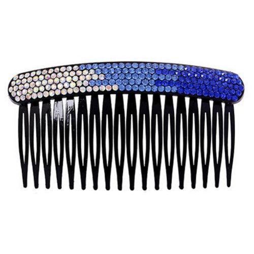 Elegant Luxury Diamond Hair Clip Hairpin Hair Barrette,Gradient Blue