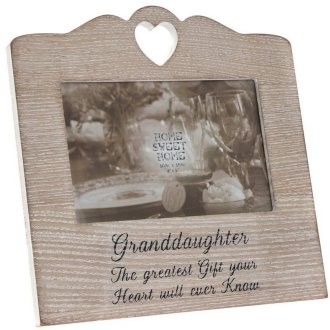 Granddaughter Sentiments Picture Frame