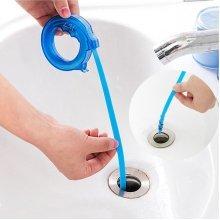 Reusable Mini-Snake Drain Opener Hair Sundries Cleaner