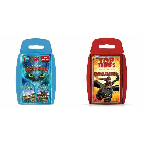 Top Trumps DreamWorks Dragons Pack 1 and 2 Including How To Train Your Dragon Hidden World