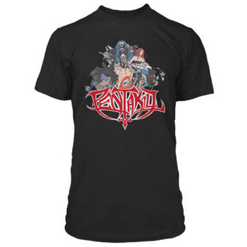 League of Legends Pentakill T Shirt SMALL ADULT