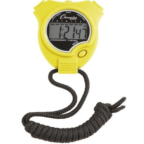 Champion Sports 910NYL Stop Watch, Neon Yellow