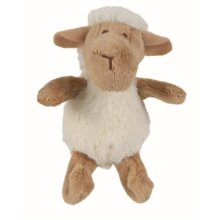 Trixie Sheep Plush Toy For Cat, 10cm - Cat 10cm -  sheep toy cat trixie plush 10 cm