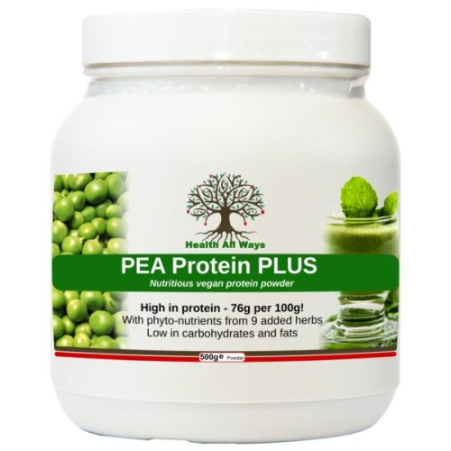 Vegan Pea Protein Powder Plus Meal Replacement Shake Phyto-nutrients