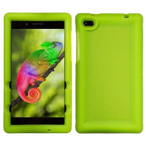 low cost c51b9 3fb20 BobjGear Bobj Rugged Tablet Case for Lenovo Tab 7 Essential (TB-7304F) -  BobjBounces Kid Friendly (Gotcha Green)