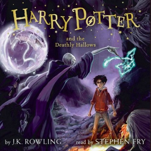 Harry Potter & The Deathly Hallows CD Audiobook - Read By Stephen Fry
