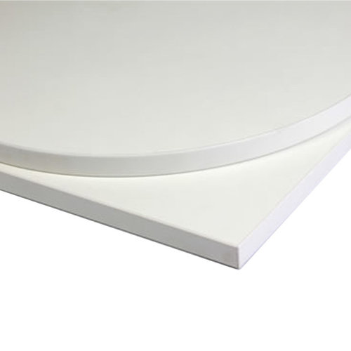 Taybon Laminate Table Top - White Rectangular - 1100x700mm