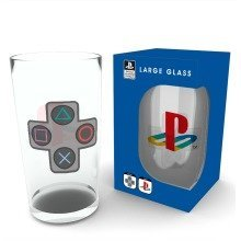 Playstation Buttons Pint Glass
