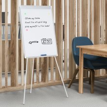 Magnetic Easel Portable Whiteboard 900 x 600 mm Vinsetto