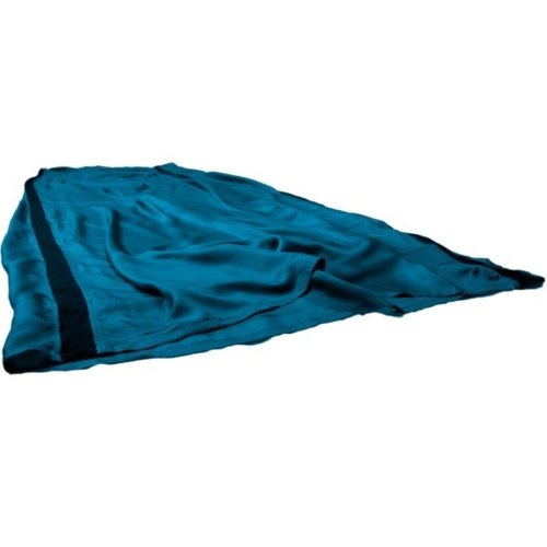 Sea to Summit Silk Stretch Panel Sleeping Liner Standard (Pacific Blue)