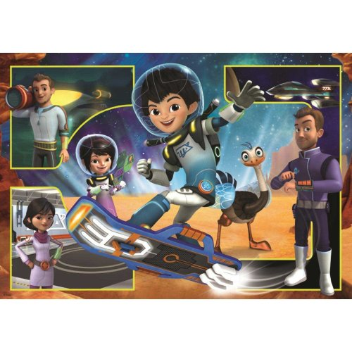 Disney Miles from Tomorrow Giant Floor Jigsaw Puzzle (50 Pieces)