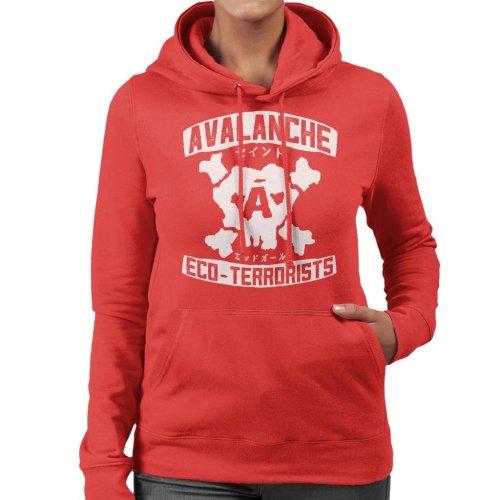 Avalanche Eco Terrorists Final Fantasy VII Women's Hooded Sweatshirt