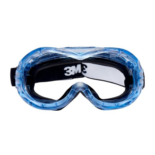 3M Fahrenheit Safety Goggles, Foam Lined, Indirect Vented, Anti-Scratch/Anti-Fog, Clear Polycarbonate Lens, 71360-00014