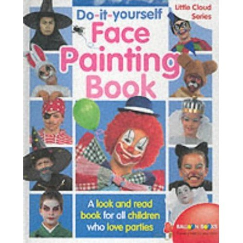 Do it yourself face painting book little cloud series on onbuy do it yourself face painting book little cloud series solutioingenieria Image collections
