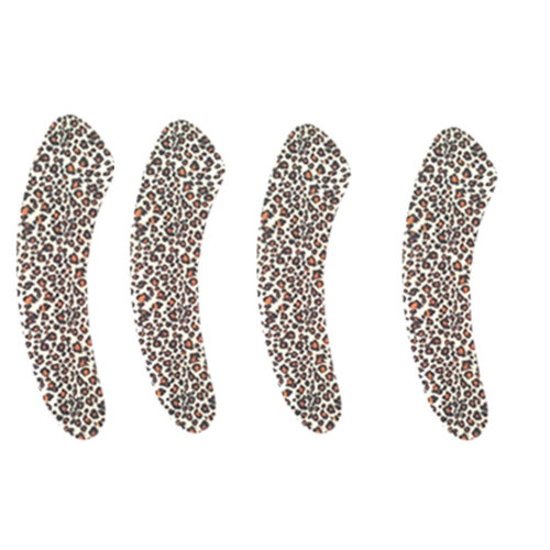 5 Pairs Bathroom Accessories Toilet Mat Toilet Seat Cover Soft Cushion Leopard