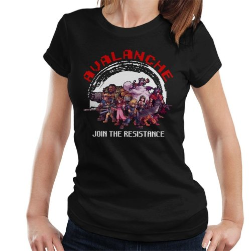 Avalanche Join The Resistance Final Fantasy VII Women's T-Shirt