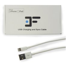 Apple MFi-Certified USB Lightning Cable | White Lightning Cable 1m