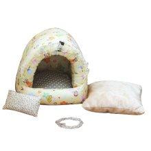 Warm Pet Habitat Hamster Hammock Cotton Chinchilla Hanging Bed Decor House -A4