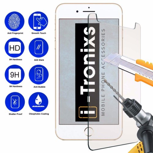 "iTronixs - Archos 40 Access 4G (4"") 9H Protection Glass Armor Protective Film Screen Protector Tempered Glass Anti Scratch Laminated Glass"