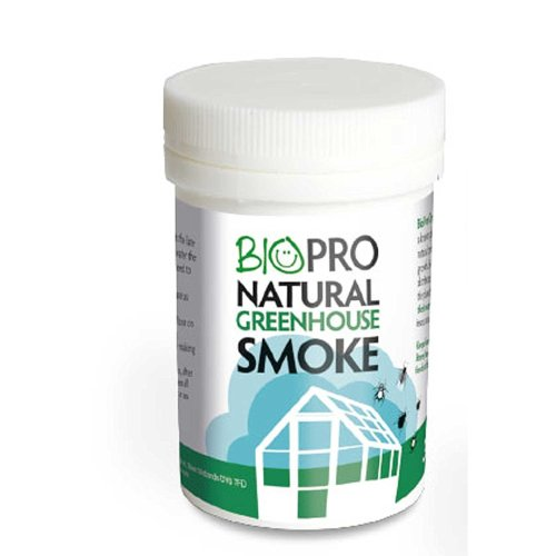 31g BIOPRO NATURAL GREENHOUSE SMOKE - GARLIC, INSECTS  by BIOPRO