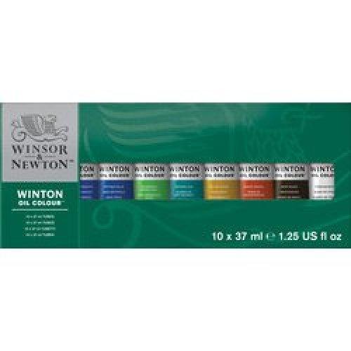 Winton Oil Colour 10 x 37ml Tube Set