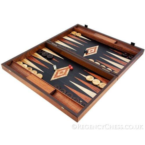 Manopoulos Luxury Baduk and Maple Backgammon Set